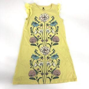 Tea Collection yellow floral print cotton dress 7